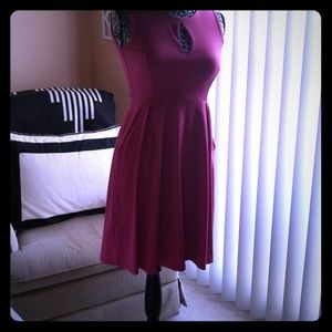 Pink sundress with pockets